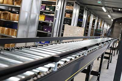 Automated Warehouse Conveyor Systems, India, Delhi, Mumbai, Bangalore