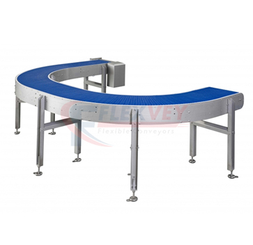 Curved Belt Conveyor System in India