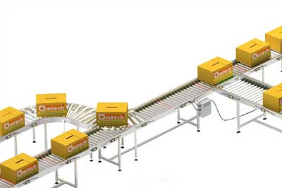 Roller Conveyor for bandsaw dealers, ahmedabad, gujarat, india