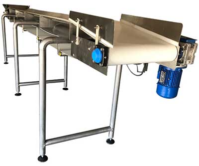 Stainless steel conveyor system Manufacturer in India
